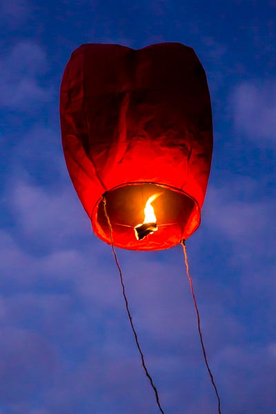 Dangers of Chinese lanterns