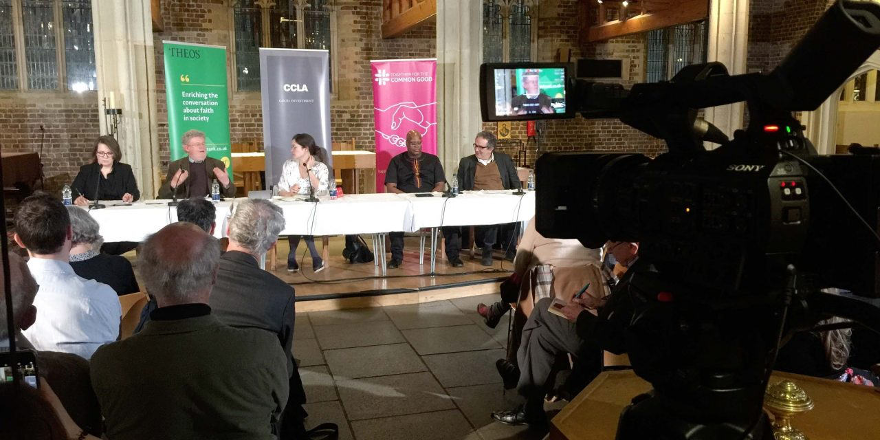 Migration debate at St Mary's Church Putney